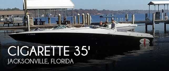 Used Cigarette Boats For Sale by owner | 1987 Cigarette 35