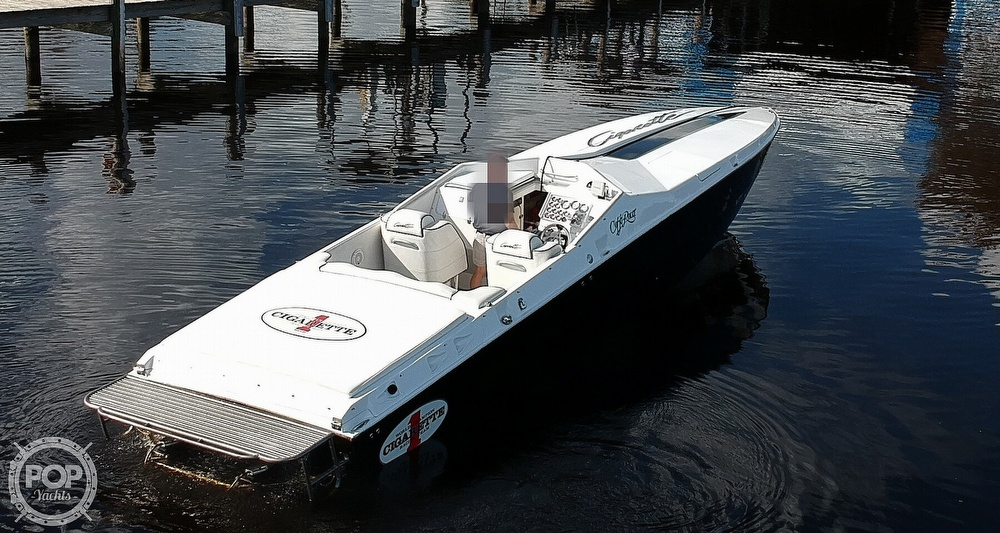1987 Cigarette boat for sale, model of the boat is Cafe Racer 35 & Image # 20 of 40