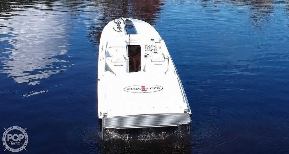 1987 Cigarette boat for sale, model of the boat is Cafe Racer 35 & Image # 22 of 40