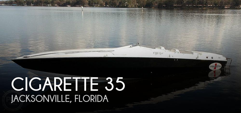 1987 Cigarette boat for sale, model of the boat is Cafe Racer 35 & Image # 1 of 40