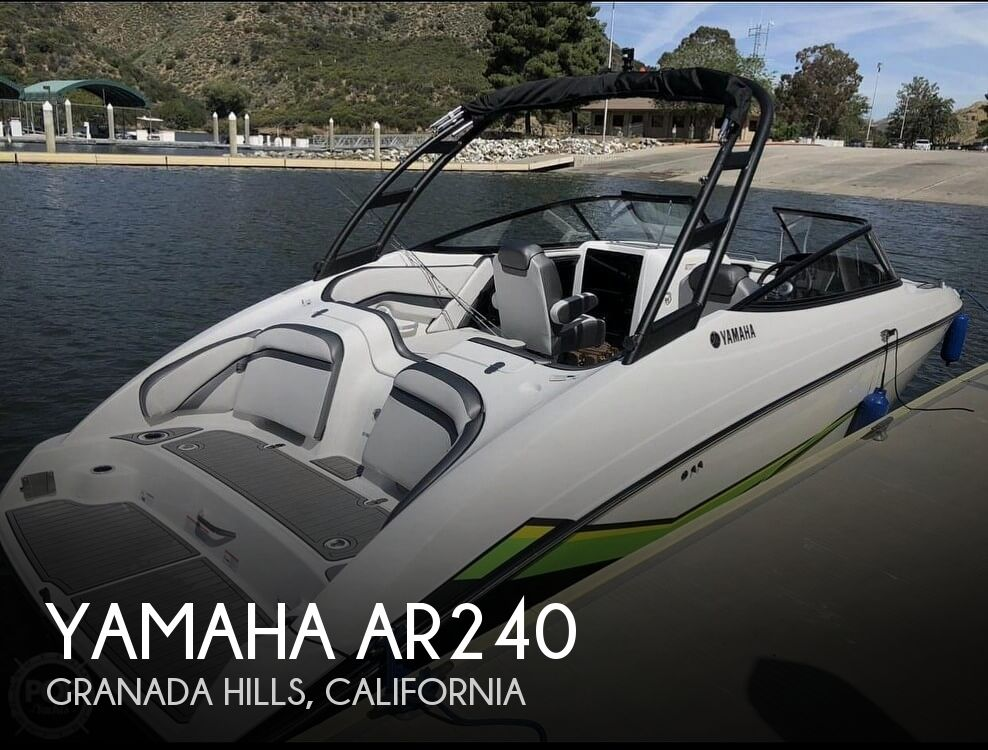 2019 Yamaha boat for sale, model of the boat is AR240 & Image # 1 of 40