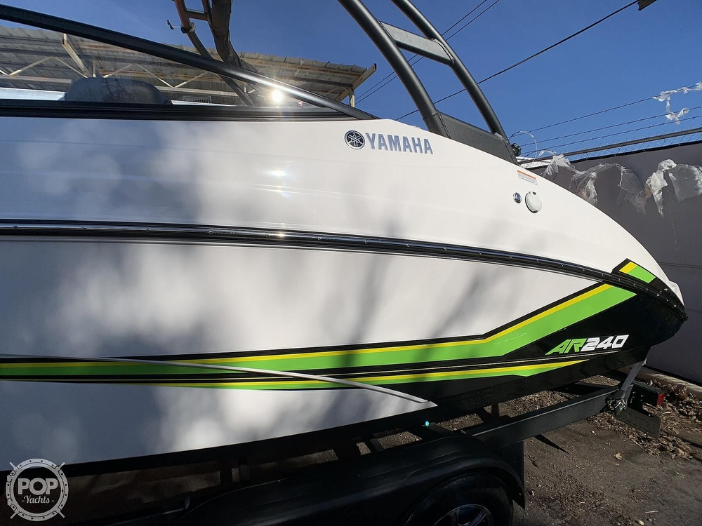 2019 Yamaha boat for sale, model of the boat is AR240 & Image # 21 of 40