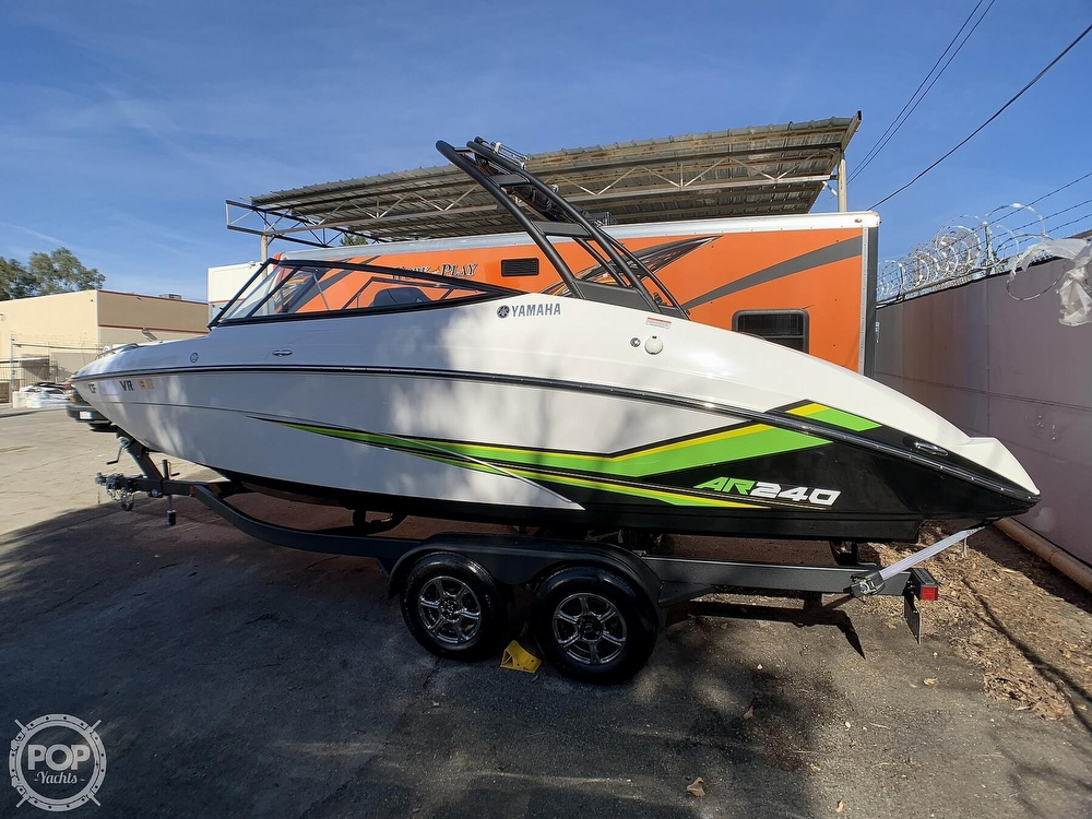 2019 Yamaha boat for sale, model of the boat is AR240 & Image # 26 of 40