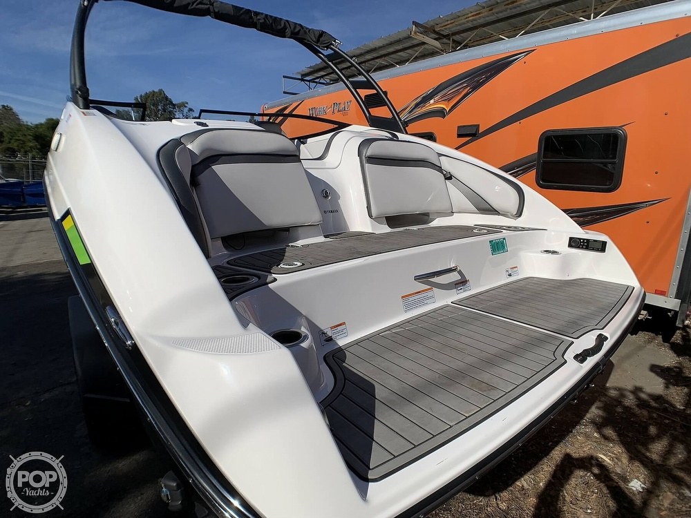 2019 Yamaha boat for sale, model of the boat is AR240 & Image # 29 of 40