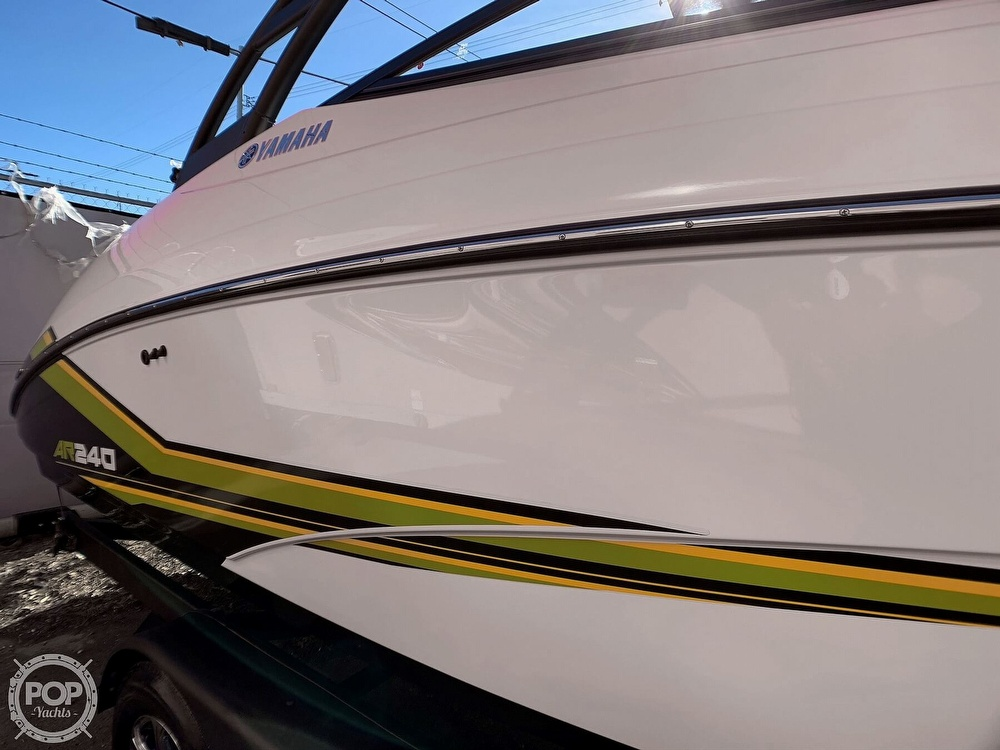 2019 Yamaha boat for sale, model of the boat is AR240 & Image # 33 of 40