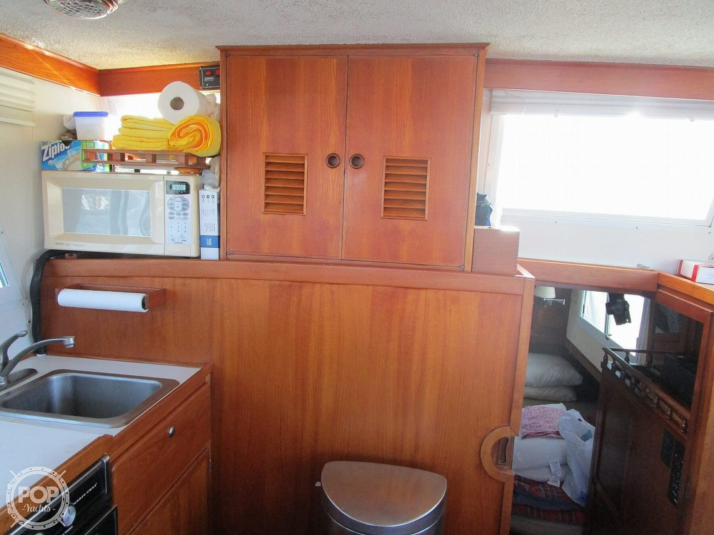 1977 Marine Trader boat for sale, model of the boat is 34 DC & Image # 5 of 41