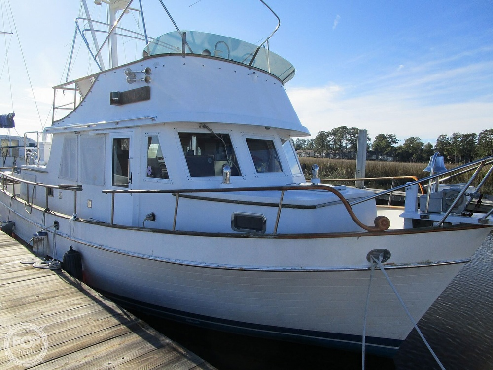 1977 Marine Trader boat for sale, model of the boat is 34 DC & Image # 2 of 41