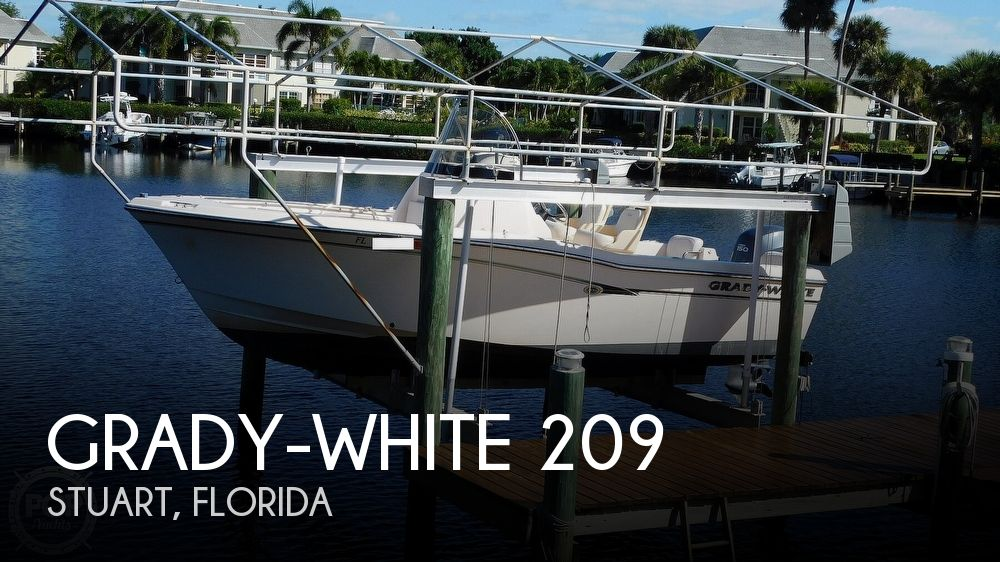 2012 Grady-White boat for sale, model of the boat is 209 Fisherman & Image # 1 of 41