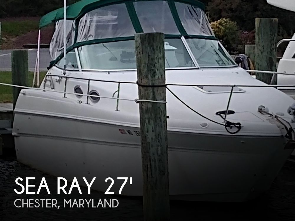 Used Sea Ray 270 express Boats For Sale by owner | 1999 Sea Ray 270 express