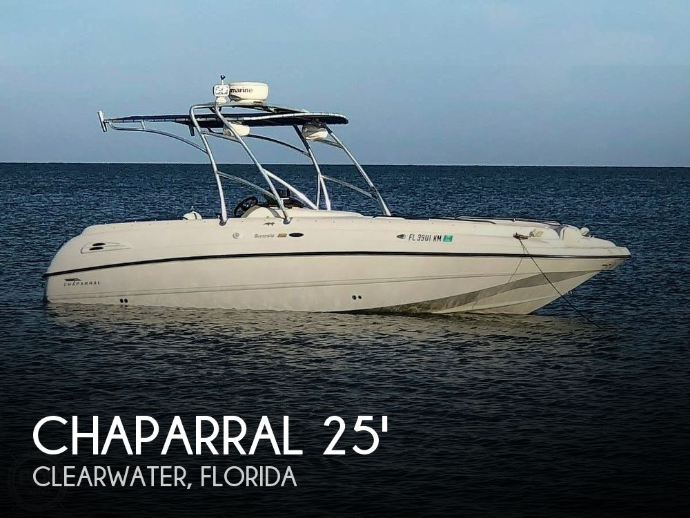Used Chaparral Deck Boats For Sale in Florida by owner | 1999 Chaparral 25 Sunesta