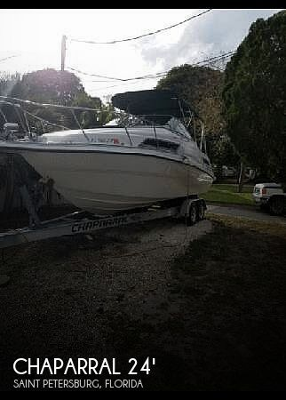 Used Chaparral 240 Signature Series Boats For Sale by owner | 1996 Chaparral 240 signature series