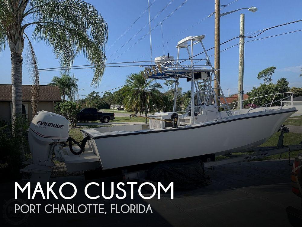 1985 Mako boat for sale, model of the boat is Custom & Image # 1 of 40
