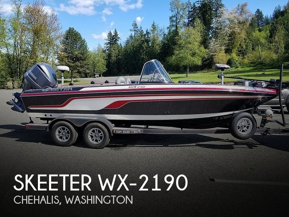Used Skeeter Boats For Sale by owner | 2017 Skeeter Wx-2190