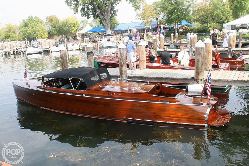 2007 Custom boat for sale, model of the boat is 1929 Triple Up Chris-Craft Replica & Image # 2 of 20