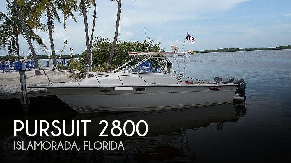 1989 PURSUIT 2800 for sale