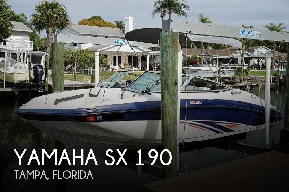 2016 Yamaha boat for sale, model of the boat is SX 190 & Image # 1 of 40