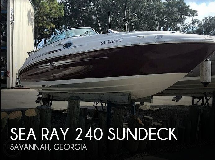 Used Sea Ray Boats For Sale in Georgia by owner | 2007 Sea Ray 240 Sundeck