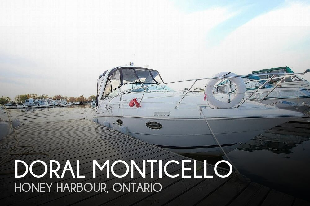 Used Doral Boats For Sale by owner | 2006 28 foot Doral Monticello