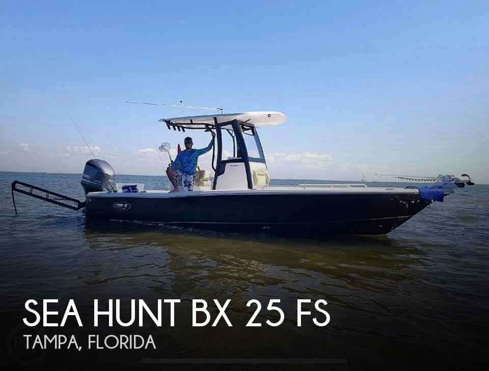 Used Sea Hunt Boats For Sale by owner | 2018 Sea Hunt Bx25fs