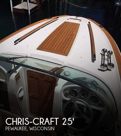 Used Boats For Sale in Rockford, Illinois by owner | 2012 Chris-Craft Corsair 25