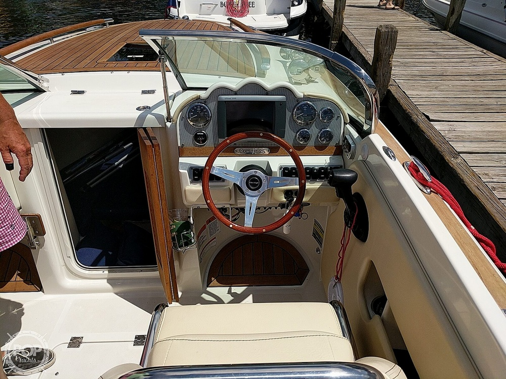 2012 Chris Craft boat for sale, model of the boat is Corsair 25 & Image # 12 of 36