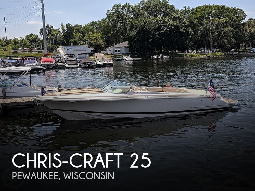 2012 Chris Craft boat for sale, model of the boat is Corsair 25 & Image # 1 of 40