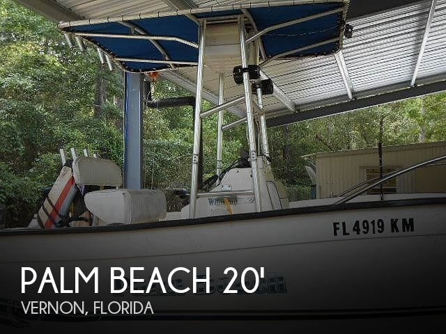 Used Palm Beach Boats For Sale by owner | 1999 Palm Beach Whitecap 20'