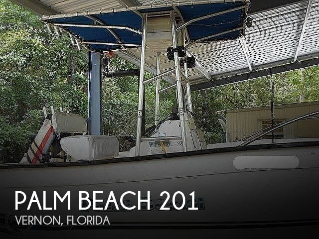 1999 Palm Beach boat for sale, model of the boat is Whitecap 201 CC & Image # 1 of 6