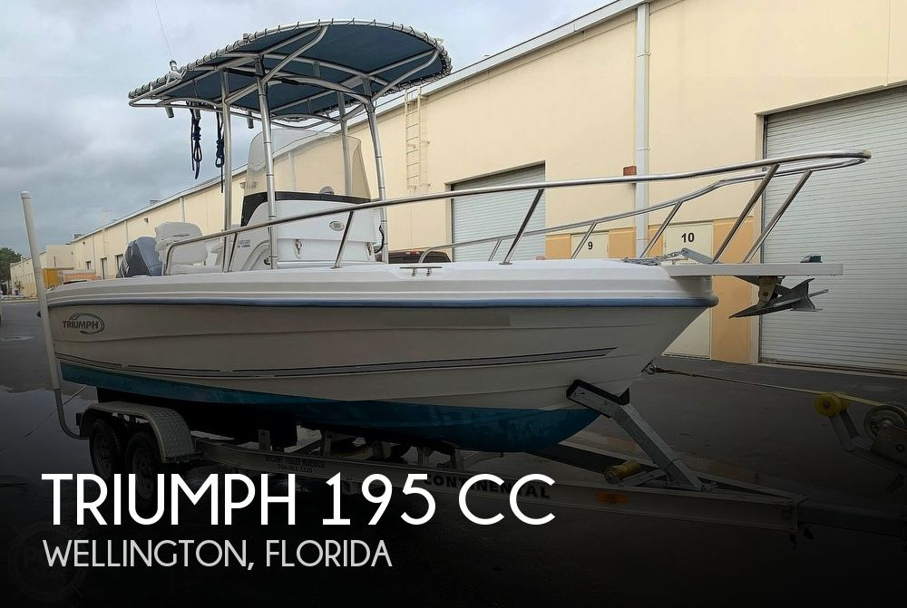 Used Triumph Boats For Sale by owner | 2006 Triumph 20 CC