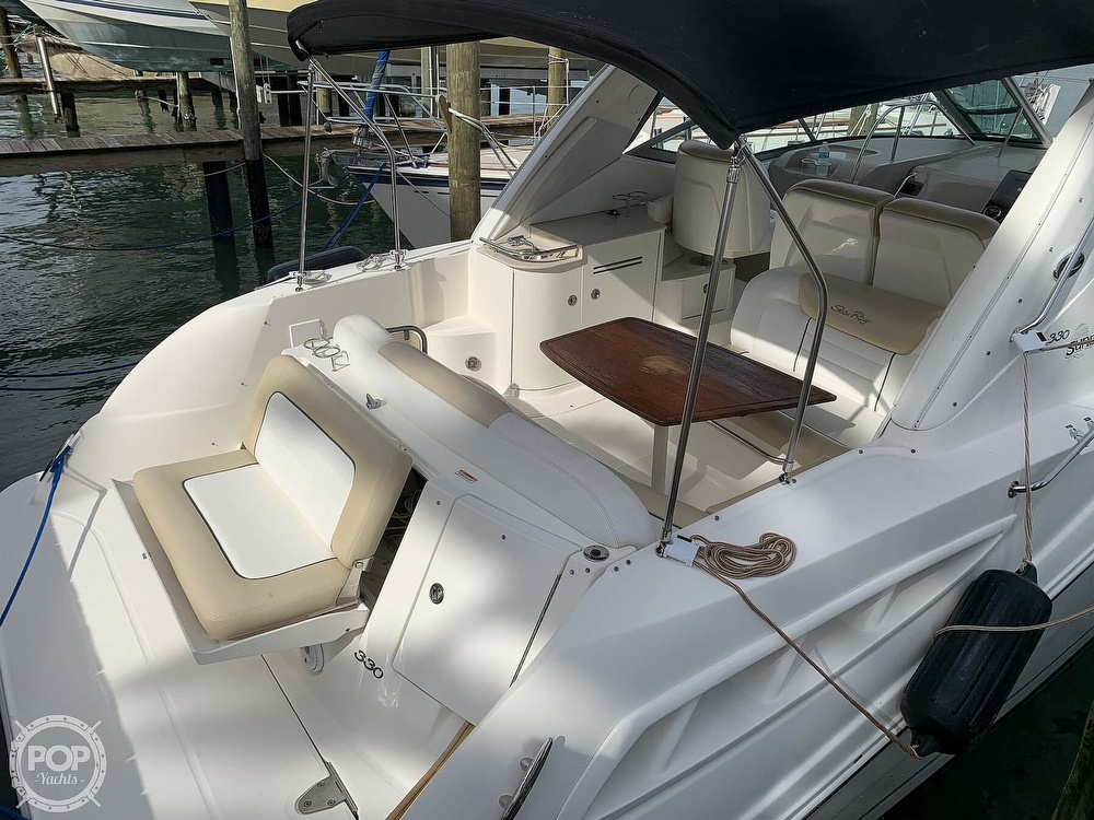 2008 Sea Ray boat for sale, model of the boat is 330 Sundancer & Image # 33 of 40