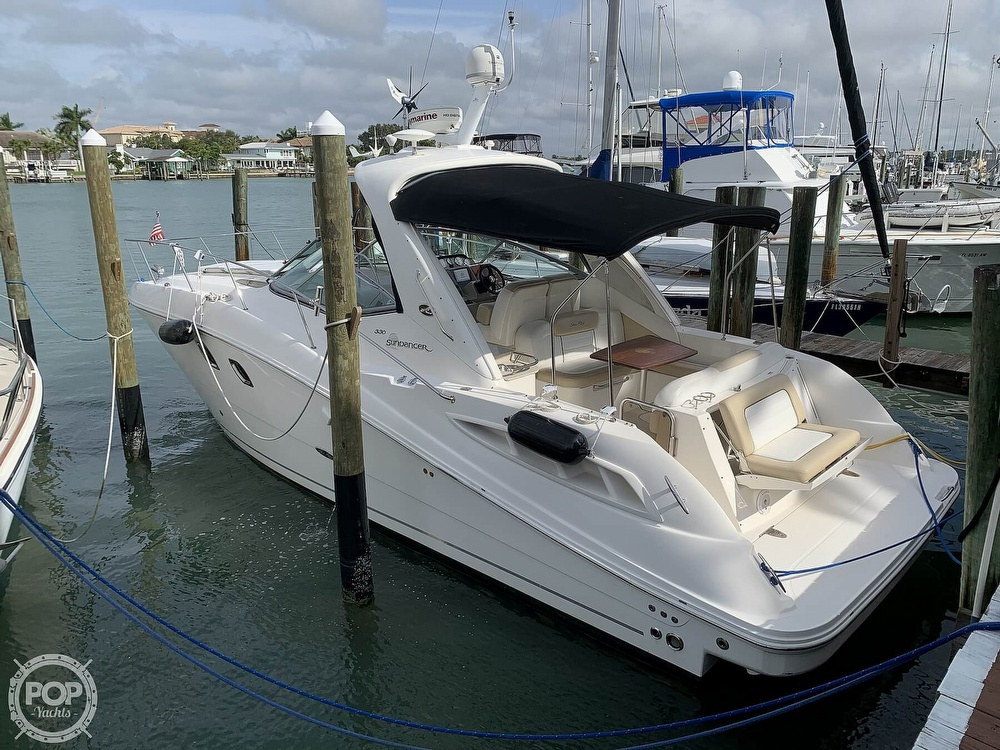 2008 Sea Ray boat for sale, model of the boat is 330 Sundancer & Image # 2 of 40