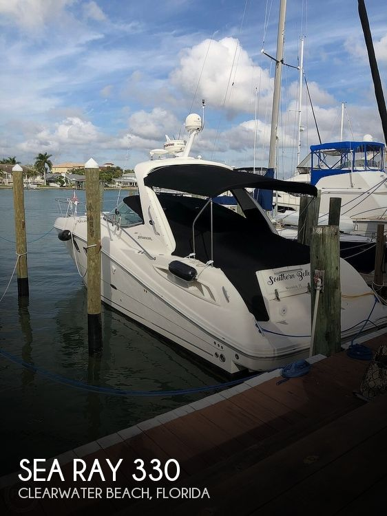 2008 Sea Ray boat for sale, model of the boat is 330 Sundancer & Image # 1 of 40