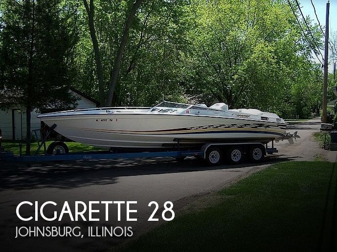 Used Boats For Sale in Madison, Wisconsin by owner | 1978 Cigarette 28