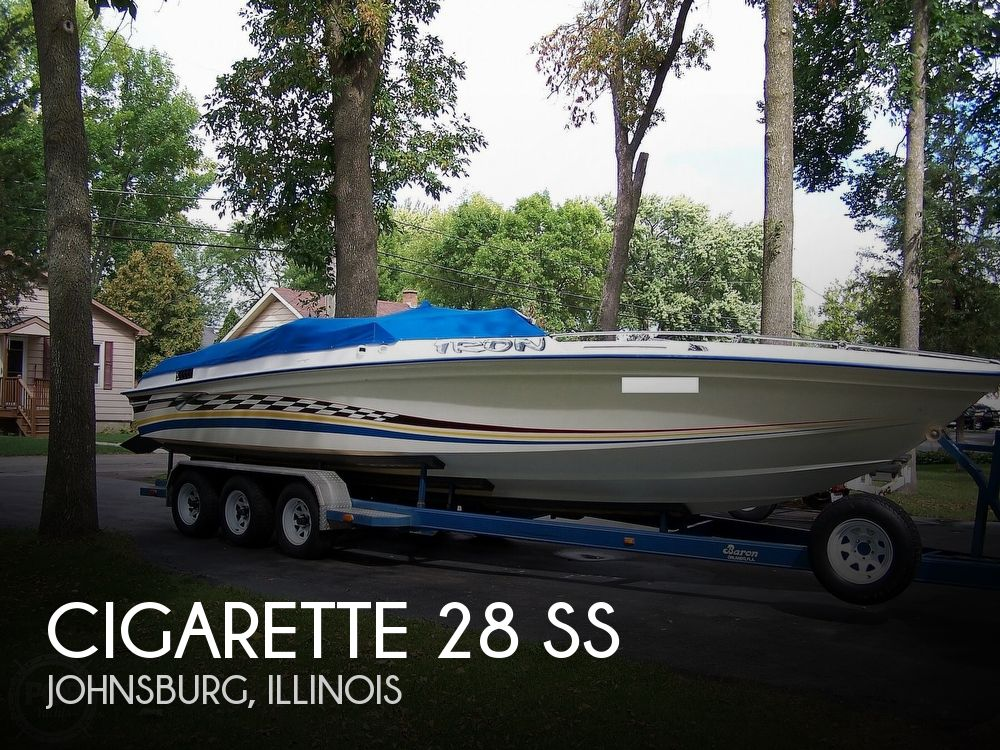 1978 Cigarette boat for sale, model of the boat is 28 SS & Image # 1 of 41