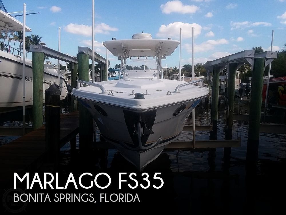 2006 Marlago boat for sale, model of the boat is FS35 & Image # 1 of 40