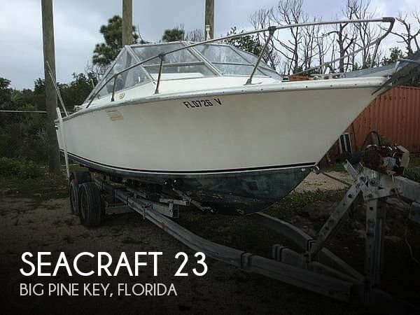 Used SEACRAFT Boats For Sale by owner | 1974 SeaCraft 23