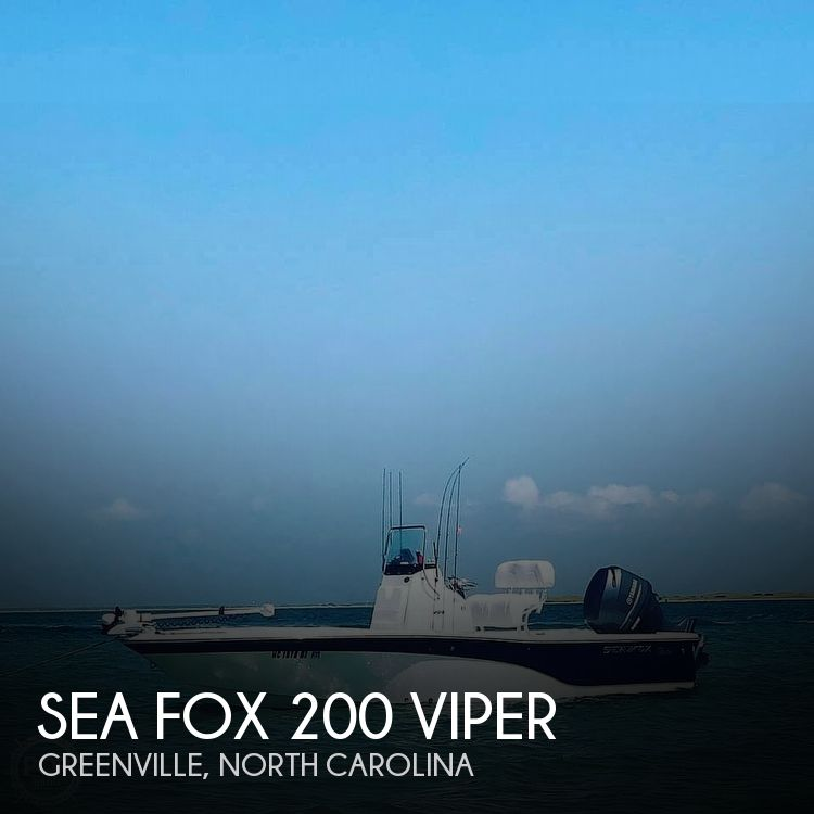 Used Sea Fox Boats For Sale in North Carolina by owner   2014 Sea Fox 200 Viper