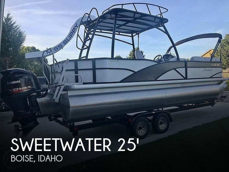 Used Boats For Sale in Boise, Idaho by owner | 2017 Sweetwater SWPE 255 SDP