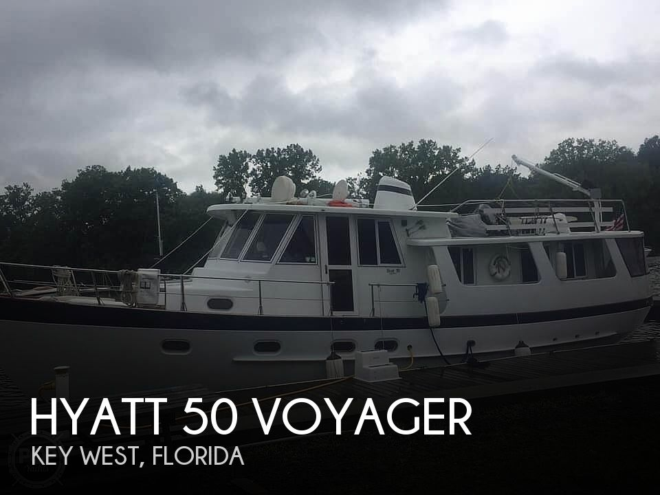 Used Boats For Sale in Jacksonville, Florida by owner | 1999 Hyatt 50 Voyager