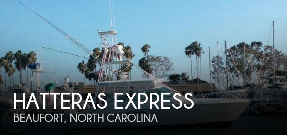 Used Boats For Sale in North Carolina by owner | 1997 39 foot Hatteras Express