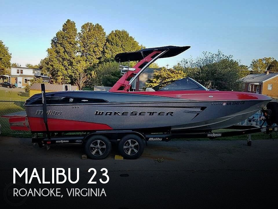 Used Boats For Sale in Roanoke, Virginia by owner | 2014 Malibu 23