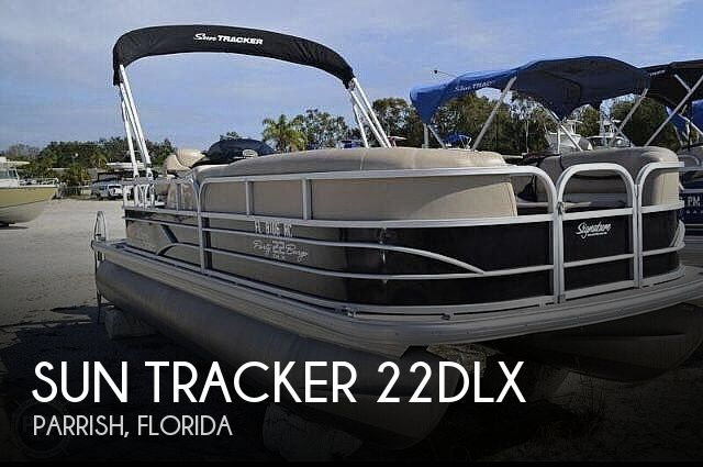 Used Sun Tracker Pontoon Boats For Sale in Florida by owner | 2016 Sun Tracker 22DLX