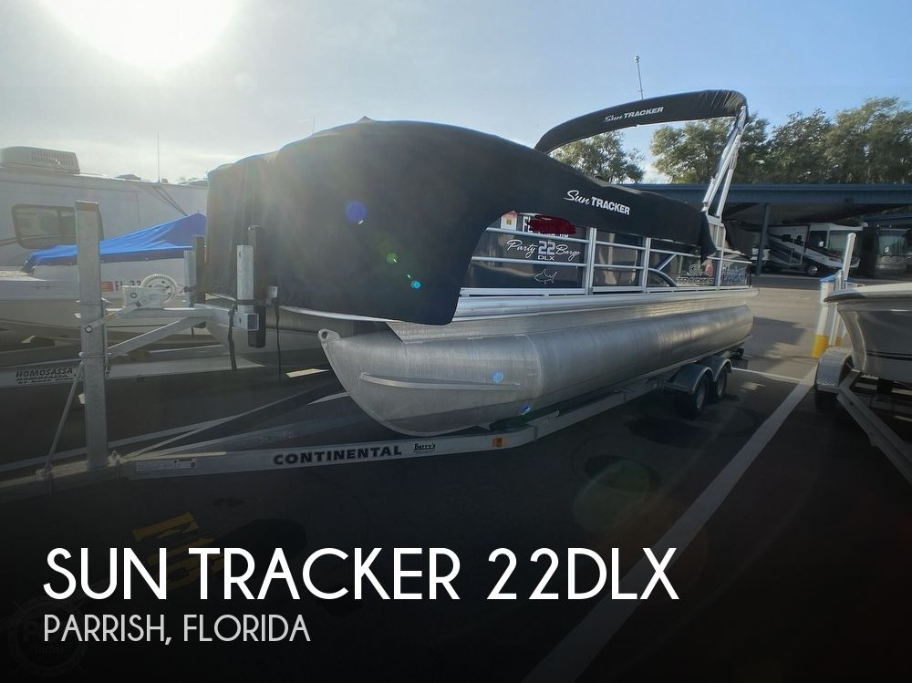 2016 Sun Tracker boat for sale, model of the boat is 22DLX & Image # 1 of 41