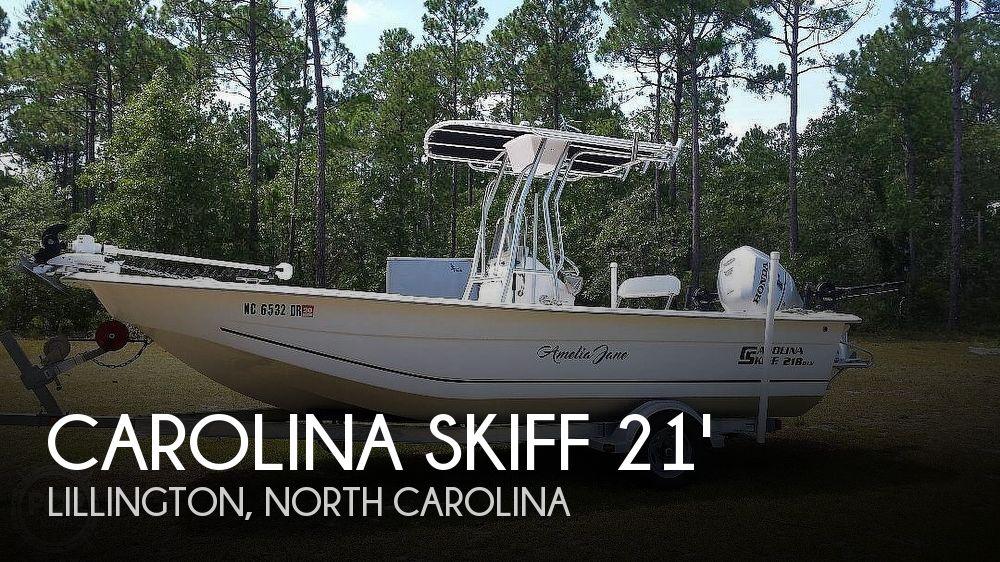 Used Carolina Skiff Boats For Sale in North Carolina by owner | 2010 Carolina Skiff 218 DLV