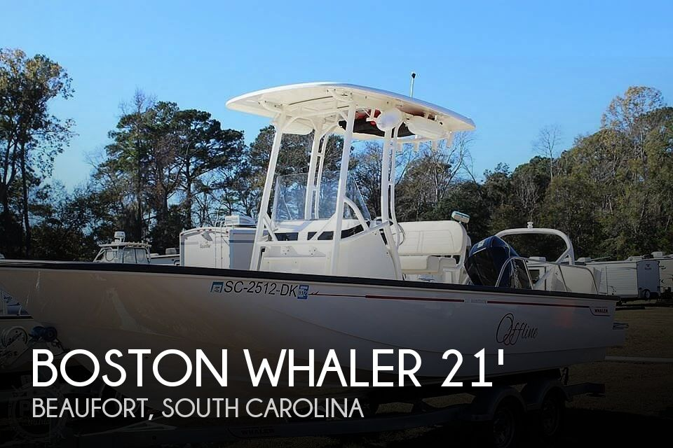 Used Boats For Sale in Savannah, Georgia by owner | 2019 21 foot Boston Whaler Montauk