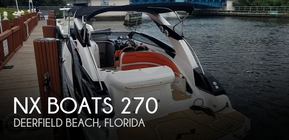 Used Boats For Sale by owner   2016 NX Boats 270 Bowrider