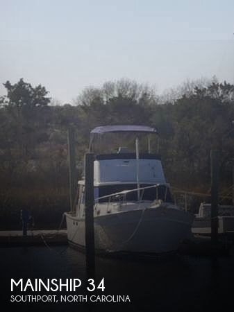 1981 Mainship boat for sale, model of the boat is 34 & Image # 1 of 40