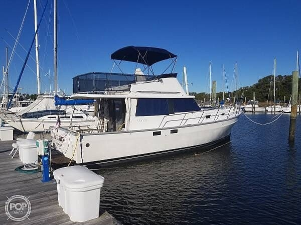1981 Mainship boat for sale, model of the boat is 34 & Image # 4 of 40