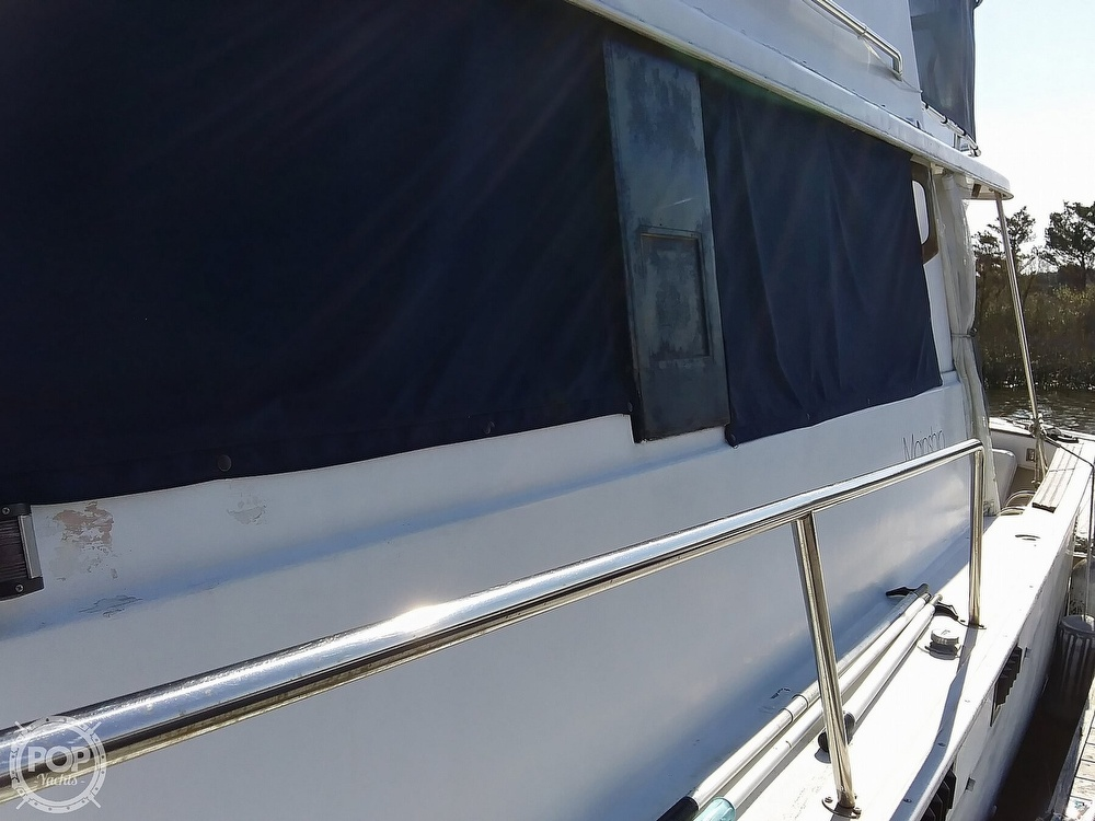 1981 Mainship boat for sale, model of the boat is 34 & Image # 9 of 40