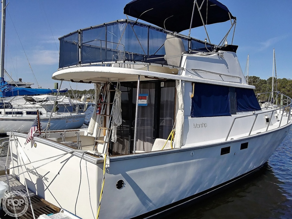 1981 Mainship boat for sale, model of the boat is 34 & Image # 15 of 40